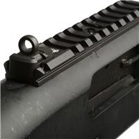 Image of XS Sights Ghost-Ring Rear & White Big Dot Tritium Front Sight Set with Mounting Rail for Mossberg Shotguns