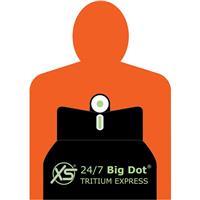 "Image of XS Sights 24/7 Big Dot Tritium Standard Express Sight Set for Colt Enhanced 1911 Pistol with 5"" Barrel, Includes Tritium Front / Rear Sights"