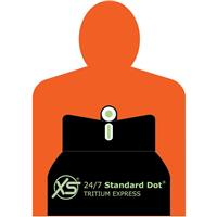 Image of XS Sights 24/7 Standard Dot Express Set for Colt 1911 Pistol, Includes Tritium Front / Adjustable Rear Sights