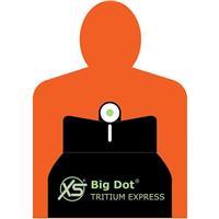 Image of XS Sights Big Dot Tritium Express Set for Springfield Trophy Match/Range Officer Pistols, Includes Tritium Front/Adjustable White Stripe Rear Sights, LPA
