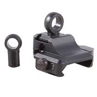 Image of XS Sights Tall Weaver Backup Base, Ghost-Ring Aperture Sight