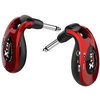 """Image of XVIVE U2 2.4GHz Guitar Wireless System, Includes 1/4"""" Transmitter and 1/4"""" Receiver, Metal Red"""