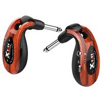 """Image of XVIVE U2 2.4GHz Guitar Wireless System, Includes 1/4"""" Transmitter and 1/4"""" Receiver, Redwood"""