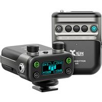 Image of XVIVE U5 Camera-Mount Digital Wireless Omni Lavalier Microphone System for Cameras