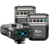 Compare Prices Of  XVIVE U5T2 Camera-Mount Digital Wireless Microphone System with 2x LV1 Lavalier Microphones, 2400-2483.5MHz