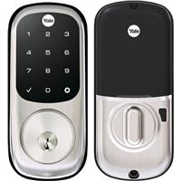 Image of Yale Assure Touchscreen Keypad Door Lock, Satin Nickel