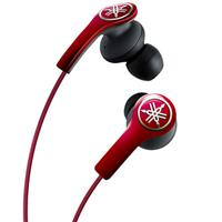 Image of Yamaha EPH-M200RE 30mW High-Performance Earphones with Remote and Microphone, 20Hz-20kHz Frequency Response, 28 Ohms Impedance, Red