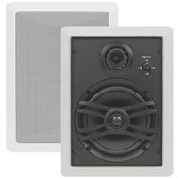 """Image of Yamaha Yamaha NS-IW470WH Natural Sound 3-way In-wall Speaker System, Pair, 120W Input Capability, 6-1/2"""" Woofer Cone"""