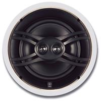 """Image of Yamaha NS-IW480CWH 8"""" Natural Sound 3-way In-ceiling Speaker System, Pair, Swivel Tweeter, Easy Installation Design"""