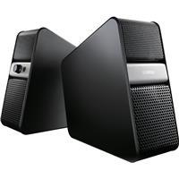 Image of Yamaha NX-B55 Bluetooth Computer Speaker, Pair, Titanium