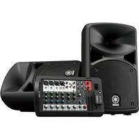 """Compare Prices Of  Yamaha STAGEPAS 400W Bluetooth Portable PA System, Includes 2x 8"""" Bass Reflex Speakers and 8-Channel Mixer"""
