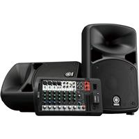 """Image of Yamaha STAGEPAS 680W Bluetooth Portable PA System, Includes 2x 10"""" Bass Reflex Speakers and 10-Channel Mixer"""
