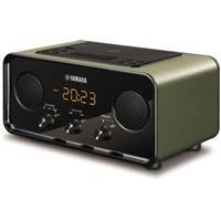 Image of Yamaha TSX-B72 Desktop Bluetooth Audio System with AM/FM Radio, Dark Green