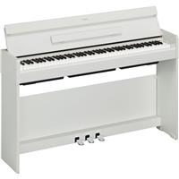 Image of Yamaha Arius YDP-S34 88-Key Slim Design GHS Weighted Action Console Digital Piano with PA-150B AC Power Adapter, White Walnut