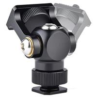 Compare Prices Of  YELANGU A180 Hot Shoe Stand Monitor Mount Head Holder with 1/4 Screw