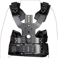 Image of YELANGU Professional Video Photography Studio Stabilizer Kit with Aluminum Alloy Load Vest Rig and Double Arm