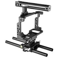 Image of YELANGU C15 Camera Cage with Baseplate and Top Handle for Nikon Z6, Z7