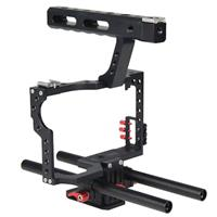Image of YELANGU C5 Camera Video Cage Kit for Sony GH4/A7, Red