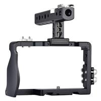 Image of YELANGU Camera Cage with Top Handle for Sony a6300/a6500 Camera