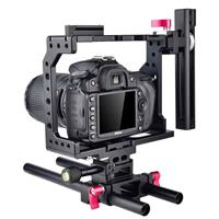 Image of YELANGU C8 Universal DSLR Camera Cage without Top Handle & Base Plate for Canon