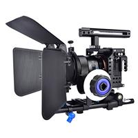 Image of YELANGU YELANGU Camera Cage Kit with Matte Box and Follow Focus for Sony a7 Series Camera