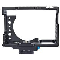 Image of YELANGU CA7 Camera Cage without Top Handle Grip Stabilizer for Sony A7 Series Camera, Black