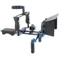 Compare Prices Of  YELANGU D221 Shoulder Rig with Camera Cage and Follow Focus