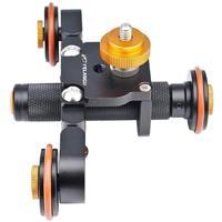 Image of YELANGU L3 Motorized DSLR Camera Dolly, Black
