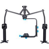 Image of YELANGU S1 Professional Foldable Handheld Spider Stabilizer for DSLR Camera