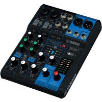 """Image of Yamaha MG06X 6-Input Mixer with Built-In Effects, 20Hz-20kHz Frequency Response, 2x Mic/Line Combo Inputs, 4x 1/4"""" Line Inputs, +48V Phantom Power"""