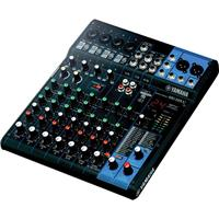 """Image of Yamaha MG10XU 10-Input Mixer with Built-In FX & 2-In/2-Out USB Interface, 20Hz-48kHz Frequency, 4x Mic/Line Combo Inputs, 6x 1/4"""" Line Inputs"""