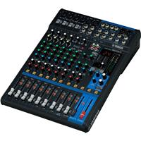 Image of Yamaha MG12XU 12-Input Mixer with Built-In FX & 2-In/2-Out USB Interface, 20Hz-48kHz Frequency Response, 6x Mic/12x Line Inputs, +48V Phantom Power
