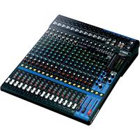 Image of Yamaha MG20XU 20 Input 6 Bus Mixer with Rack-Mount Kit, 2in/2out USB Audio Functions, 20Hz-48kHz Frequency, +48V Phantom Power, 1-Knob Compressor,