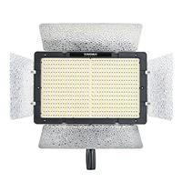Image of Yongnuo YN-1200 3200-5500K Dimmable LED Video Light for Camera or Camcorder, 9300 Lumens