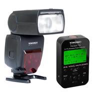 Image of Yongnuo YN685 Wireless TTL Speedlite for Nikon Cameras - Bundle with Yongnuo YN-622N-TX 7-Channel i-TTL Wireless Flash Controller