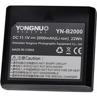 Image of Yongnuo YN-B2000 11.1V 2000mAh Rechargeable Li-Ion Battery for YN686EX-RT TTL Speedlite