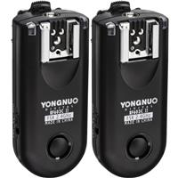 Image of Yongnuo Yongnuo RF-603 II 16-Ch Wireless Flash Trigger for Canon 3-Pin Connection 1D/5D/7D/10D/20D/30D/40D/50D Cameras, 2.4GHz, 1/320sec Sync Speed