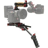 Image of Zacuto Cine EVF Recoil Rig for Canon C700, RED One, Epic, Epic Dragon, Scarlet, Blackmagic Cinema, AJA Cion and ARRI ALEXA Cameras