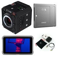 """Image of Z CAM E2-M4 4K Cinema Camera MFT - With Atomos Ninja V+ 5"""" Touchscreen Recording Monitor, Angelbird AtomX SSDmini 1TB External Solid State Drive, ZILR 39"""" 4Kp60 HDMI Secure Cable"""