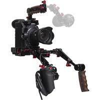 Image of Zacuto Recoil Pro Rig with Dual Trigger Grips for Canon C300 Mark II Camera
