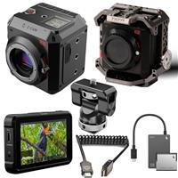 "Image of Z CAM E-2 4K Cinema Camera - Bundle With Tilta Camera Cage Gray, SmallRig Swivel and Tilt Monitor Mount, Atomos Shinobi 5.2"" IPS Touchscreen Monitor, Atomos HDMI to HDMI Cable, Angelbird Match Pack"