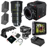 """Image of Z CAM E2-S6 Pro Super 35mm 6K Cinema Camera, EF Mount - Bundle With DZOFILM 20-55mm T2.8 Super35 Zoom Cine Lens, Atomos Ninja V 5"""" Touchscreen Recording Monitor, Zilr 4Kp60 HDMI Cable, And More"""