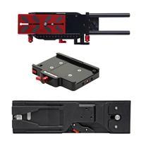 Image of Zacuto VCT Pro Baseplate for All Cameras - Bundle With Zacuto VCT Tripod Plate, Zacuto CT Pro Tripod Dock