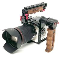 Image of Zacuto Camera Cage Kit with Tactical Handle & Trigger Handgrip for RED Komodo