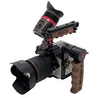 Image of Zacuto Camera Cage Kit with Kameleon PRO EVF for RED Komodo