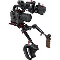 Image of Zacuto Z-Finder Recoil Rig with Dual Trigger Grips for Sony FX6 Camera