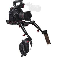 Image of Zacuto Recoil Pro Rig with Dual Trigger Grips for C200 Camera