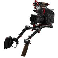 Image of Zacuto Gratical Eye Bundle for Canon C500 Mark II, Includes VCT Pro Baseplate, Rosette Dual Trigger Grips, Axis Mini
