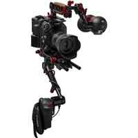 Image of Zacuto Zacuto Gratical Eye Bundle for Canon C500 Mark II, Includes VCT Pro Baseplate, Rosette Trigger Grip, Axis Mini