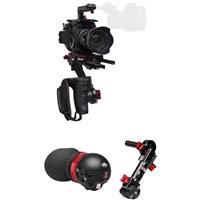 Image of Zacuto Gratical Eye Micro OLED Electronic Viewfinder Bundle for Panasonic EVA1 Camera, Includes Trigger Grip